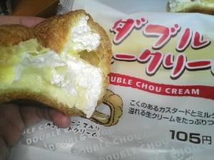 ダブルシュークリーム