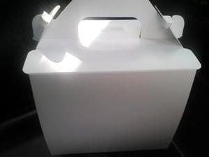 テイクアウト用の箱