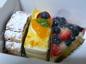 ボンジュールタナカのケーキ