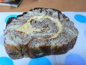 クルミクリームパン