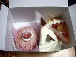 コージコーナーのケーキ
