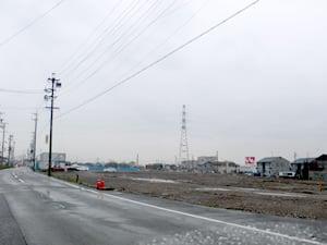 マックスバリュ垂井店の建設予定地