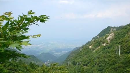 武平峠の眺め