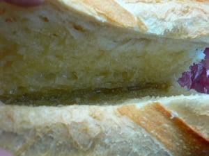 フランスパン/ハミチツバター