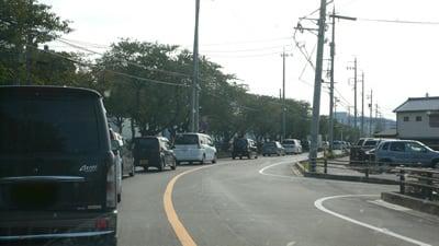 エアポートウォーク名古屋:渋滞