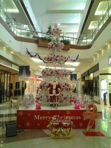 イオン大垣のクリスマスツリー
