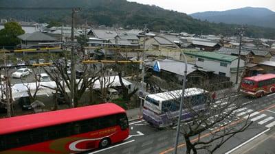 バスの大渋滞