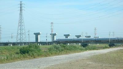 東海環状道の橋脚