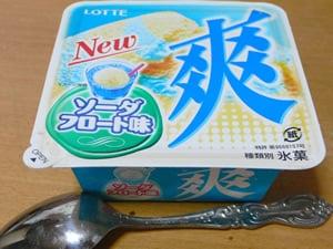 爽 ソーダフロート味