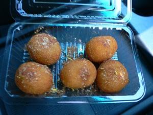 瓢ヶ岳のカレーパン