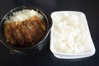 味噌かつ弁当