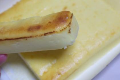れん乳ミルクチーズケーキバー
