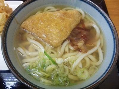 四代目横井製麺所のかけうどん