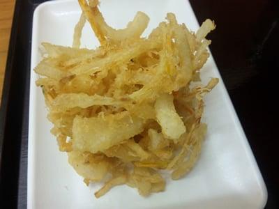四代目横井製麺所のかき揚げ