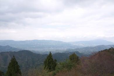 高野山からの眺め