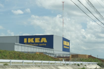 IKEA弥富物流センター