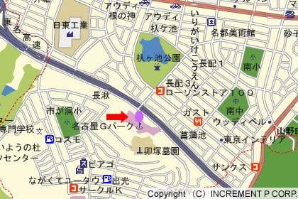 カネスエ長久手卯塚店の地図