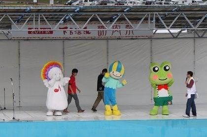 下呂温泉謝肉祭 2011のメインステージ