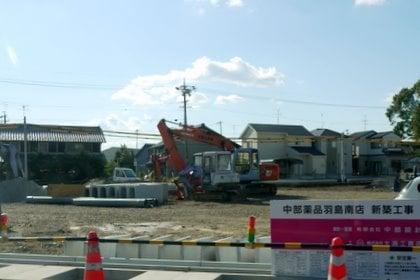 Vドラッグ新築工事の写真