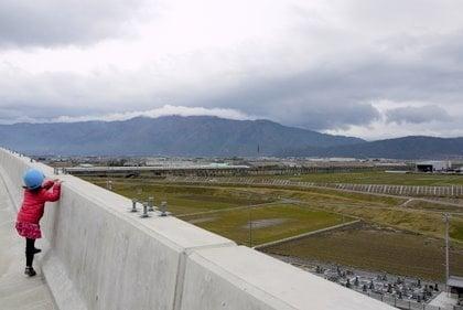 高架橋からの景色の写真