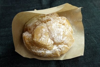 みかんシュークリームの写真