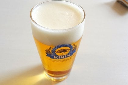 50周年記念ビールの写真