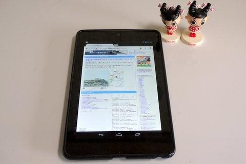 Nexus 7の写真