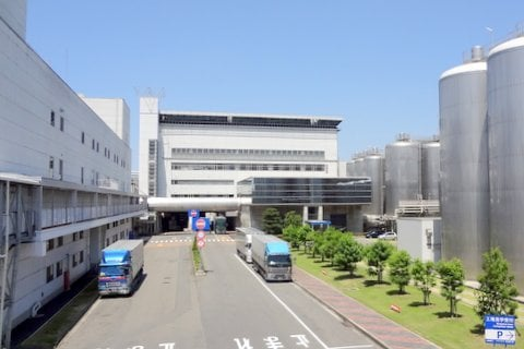 アサヒビール名古屋工場の写真