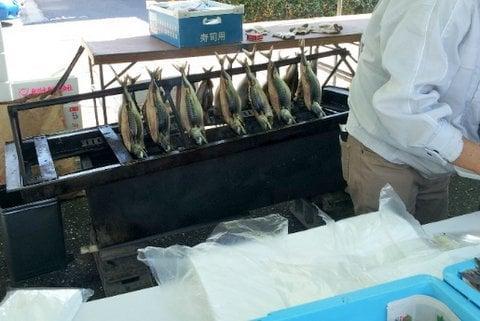 焼き魚の写真