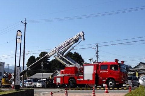 消防コーナーの写真