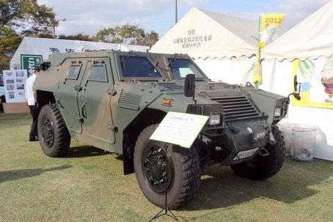 装甲車の写真