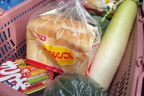 バロー東新町店の買い物の写真