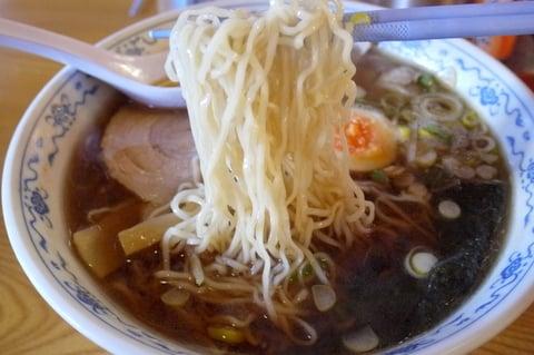 板蔵らーめんの麺の写真