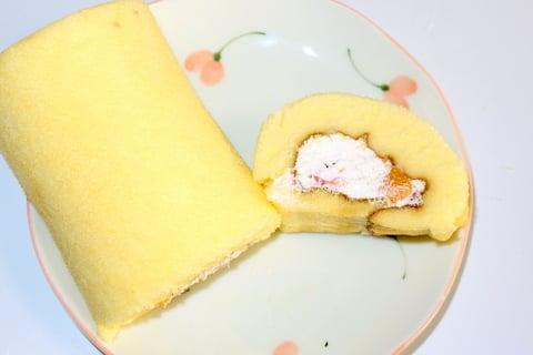 どらえもんのえほうまきロールケーキの写真