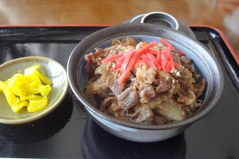 ミニ飛騨牛丼の写真