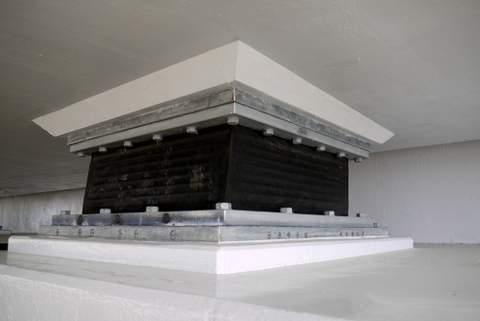 各務原大橋の支承の写真