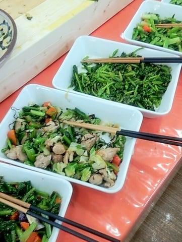 フラールの野菜料理の写真
