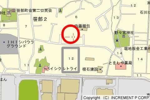 バロー笹部店の出店図の写真