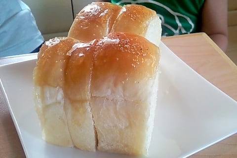 ルルパンブルーのパンの写真