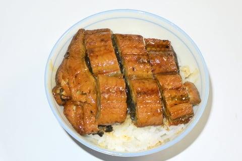 カネスエさんのうなぎの蒲焼きの写真