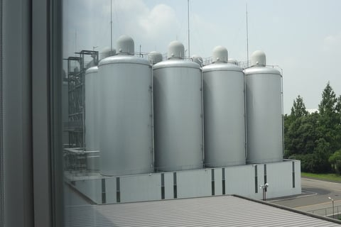 貯水棟の写真