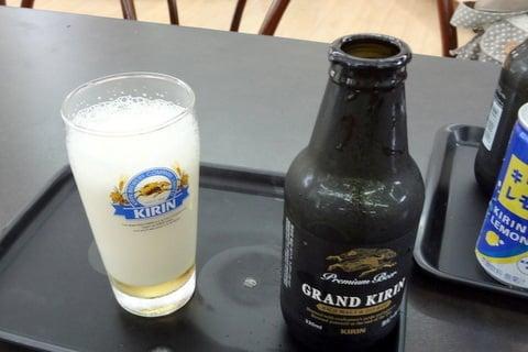 美味しいビールの注ぎ方の写真