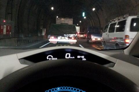 中央環状の渋滞の写真