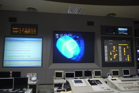コントロール室の写真