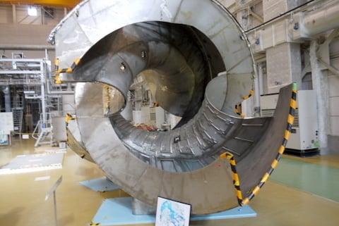 核融合実験の今までの実験機の写真