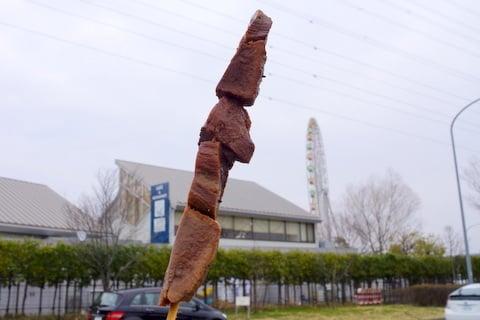 飛騨牛たん串の写真