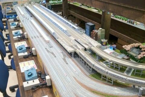 鉄道模型の写真