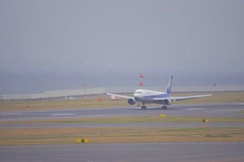 ANA着陸やり直しの写真