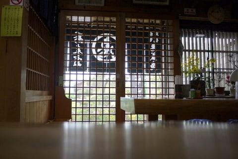 恵盛庵の店内の写真