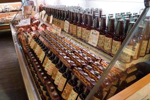 もくもくファームの地ビールの写真